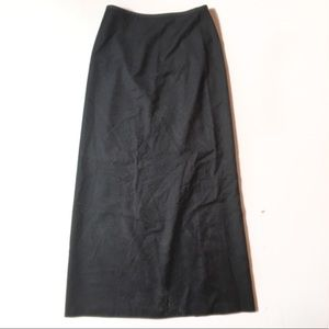 JCrew Wool Maxi Skirt
